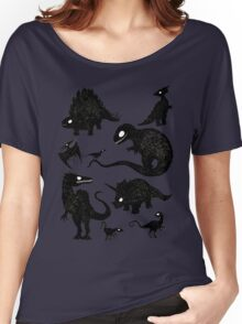 Silhouetted Dinosaurs Women's Relaxed Fit T-Shirt
