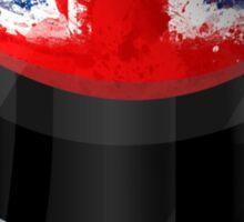 F1 Drivers Helmet - United Kingdom Design Sticker