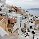 Santorini, Greece by Leah Gay