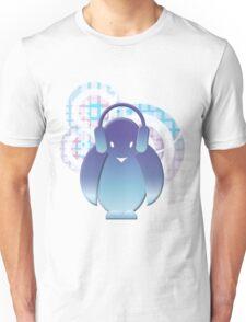 PENGUIN WITH HEADPHONE II Unisex T-Shirt