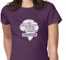 Hands of Engineers Womens Fitted T-Shirt