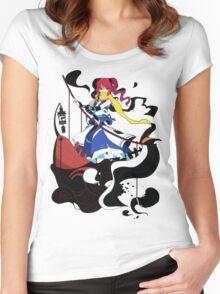 Touhou - Komachi Onozuka Women's Fitted Scoop T-Shirt