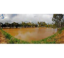 Murrumbidgee Floods, Panorama Photographic Print