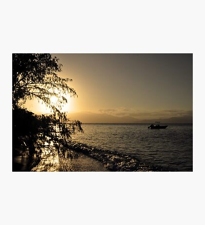 Island Sunset - Frankland Islands Photographic Print