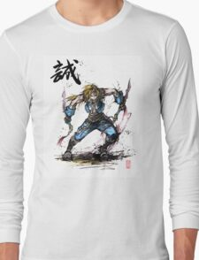 Zidane Tribal from Final Fantasy IX Long Sleeve T-Shirt