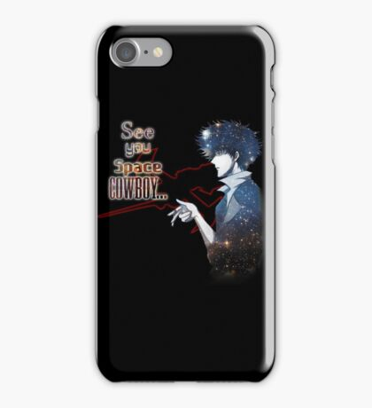 Spike Spiegel Space Cowboy iPhone Case/Skin