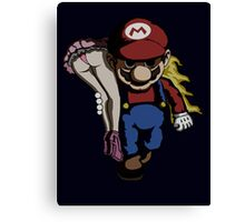 Mario Kidnap Canvas Print