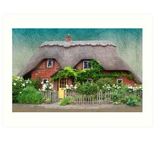 Cottage Dream Art Print