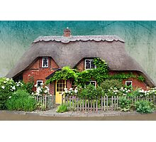 Cottage Dream Photographic Print