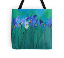 a clutch of dutch irises Tote Bag