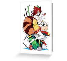 Touhou - Mamizou Futatsuiwa Greeting Card