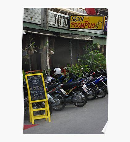 Bar at Chiang Mai Poster