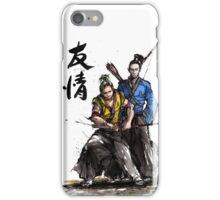 Kirk and Spock Samurai from Star Trek iPhone Case/Skin