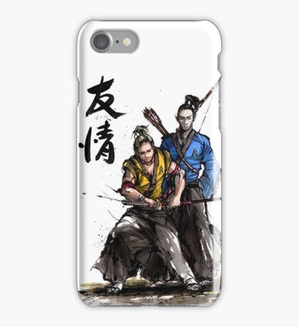Kirk and Spock Samurai from Star Trek iPhone Case/Skin