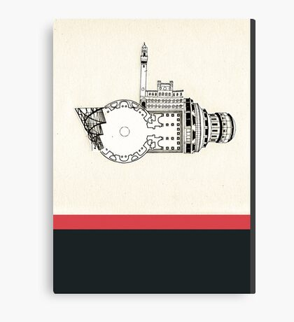 dreamhouse 1 Canvas Print