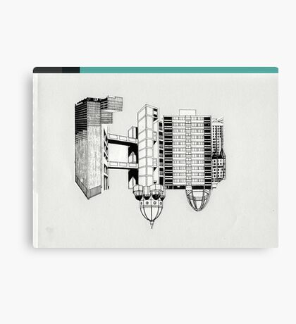dreamhouse 2 Canvas Print