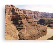Helicopter view of Grand Canyon Canvas Print