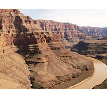 Helicopter view of Grand Canyon Photographic Print