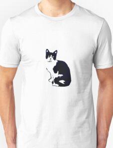 Black & White Cat T-Shirt