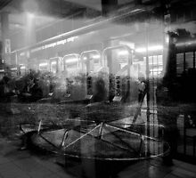 New Yorkers going round & round by ShellyKay