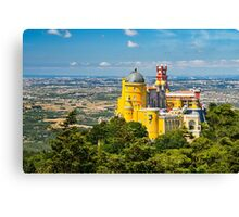 The Pena Palace Canvas Print