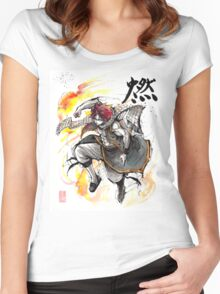 Natsu from Fairy Tale Women's Fitted Scoop T-Shirt