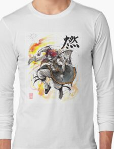 Natsu from Fairy Tale Long Sleeve T-Shirt