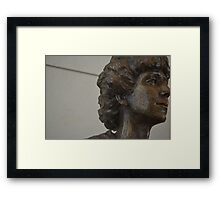 Sculpture from Washington DC Framed Print