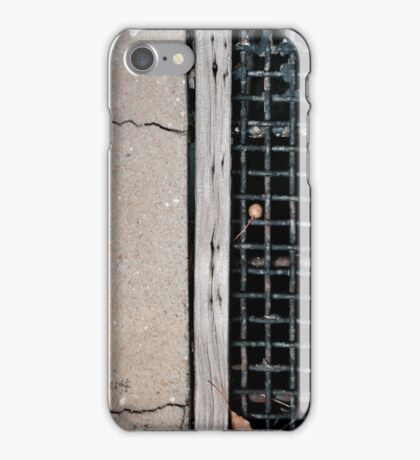 half a grate, one cherry iPhone Case/Skin