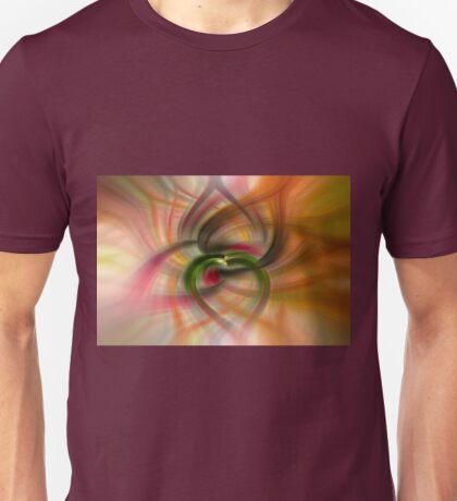Peach and Green  Unisex T-Shirt