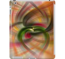 Peach and Green  iPad Case/Skin