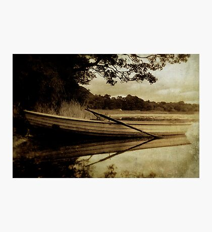 A Summer's Evening On Lake Mentieth Photographic Print