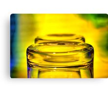 brandy glass 01 Canvas Print