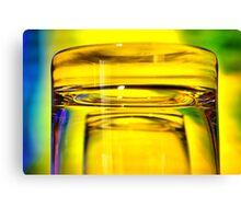 brandy glass 02 Canvas Print
