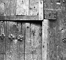 Old door -Puerta vieja- Garganta la Olla by Rafael López