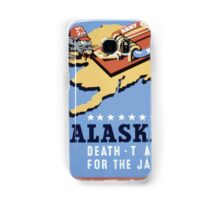 WPA United States Government Work Project Administration Poster 0258 Alaska Death Trap for the Jap Samsung Galaxy Case/Skin