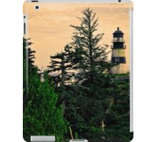 The Washington Cape Disappointment Lighthouse iPad Case/Skin