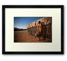 Samburu Boy Framed Print