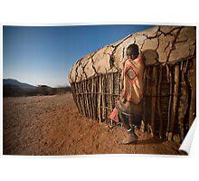 Samburu Boy Poster