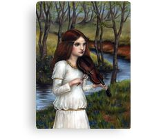 Woodland Angel Canvas Print