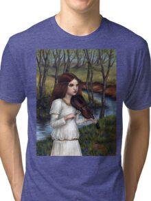 Woodland Angel Tri-blend T-Shirt