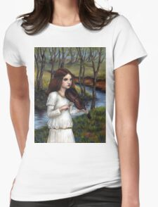 Woodland Angel Womens Fitted T-Shirt