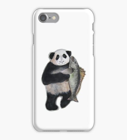 The Panda and the Mangrove iPhone Case iPhone Case/Skin
