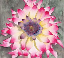 Point Defiance Dahlia Two by Ken Powers