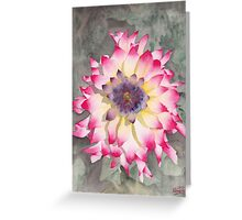 Point Defiance Dahlia Two Greeting Card