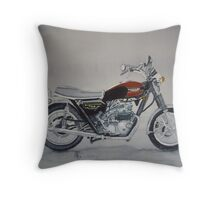 Triumph Bonneville Throw Pillow