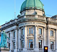 The Royal Society of Edinburgh by Tom Gomez