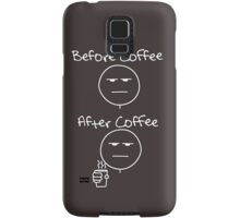 Before & After Coffee Samsung Galaxy Case/Skin