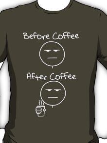 Before & After Coffee T-Shirt