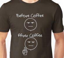 Before & After Coffee Unisex T-Shirt